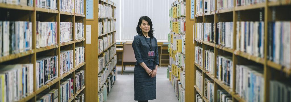 図書館から牟岐をワクワクさせます! – 牟岐図書館 木本千代子さん