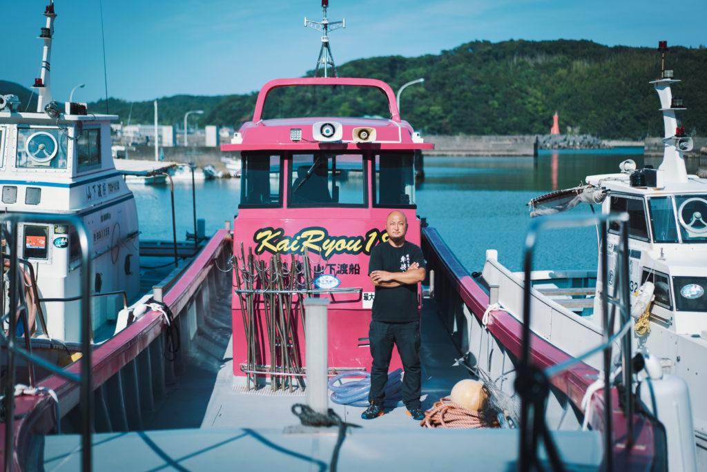 釣り人と夢をのせて、牟岐大島へ今日も行く – 海漁丸 山下洋介さん